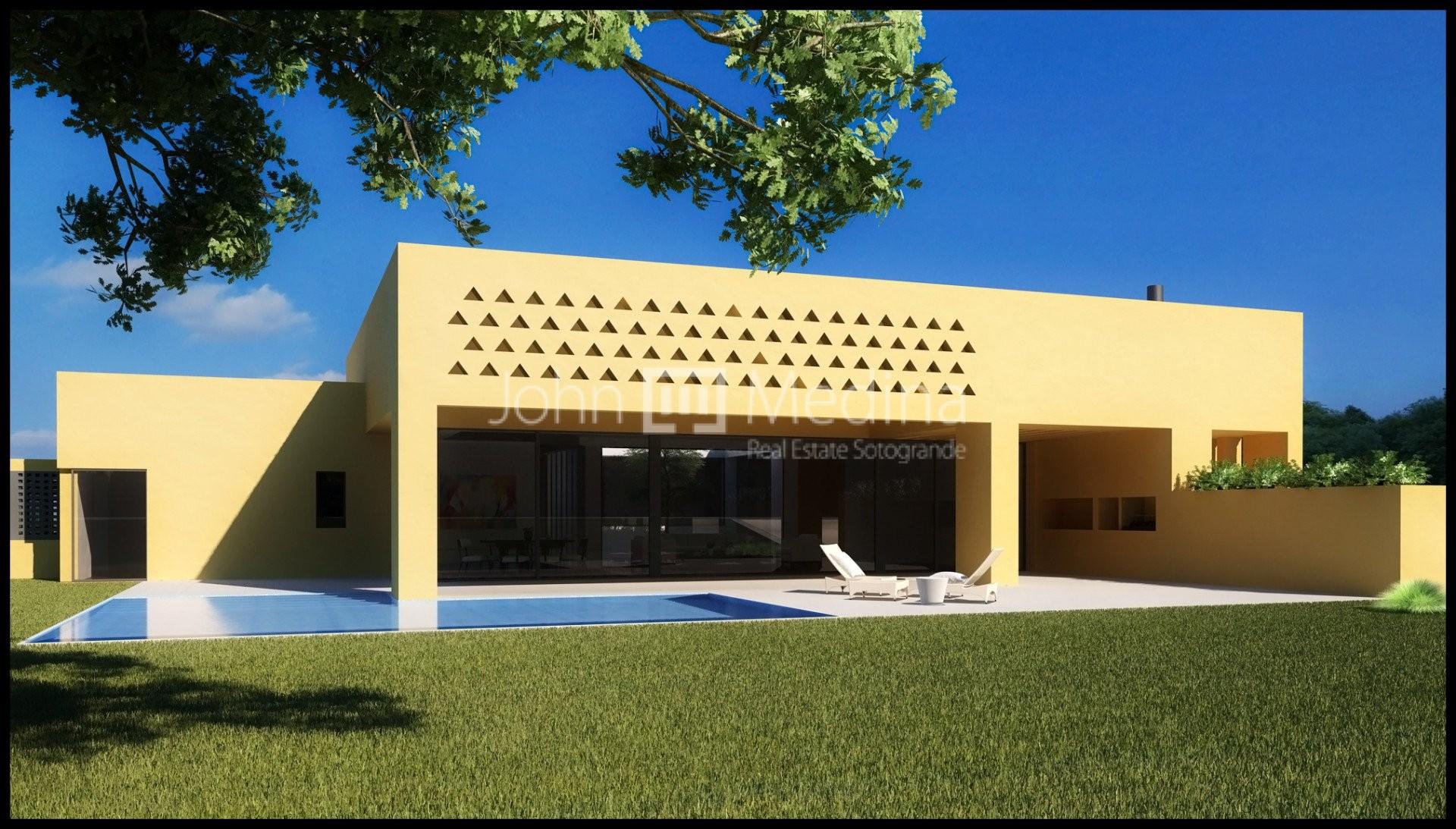 COLONIAL STYLE VILLA UNDER CONSTRUCTION IN SOTOGRANDE
